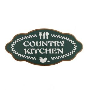 "❤️3/$30 ""Country Kitchen"" rustic wooden sign."